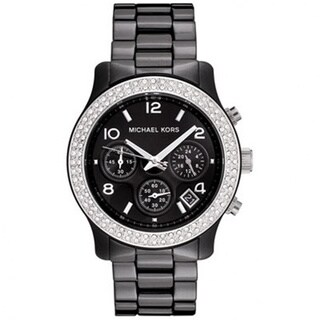 Michael Kors Women's Ceramic Chronograph Watch