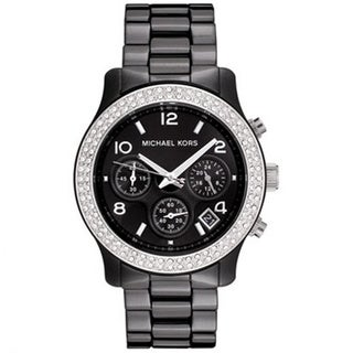 Michael Kors Women's MK5190 Ceramic Chronograph Watch