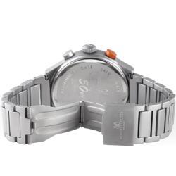 Montres De Luxe Men's '50 MM Type 12 Summer' Orange Helicopter Watch - Thumbnail 2
