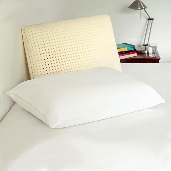 Authentic Comfort Ventilated Jumbo-size Memory Foam Pillow