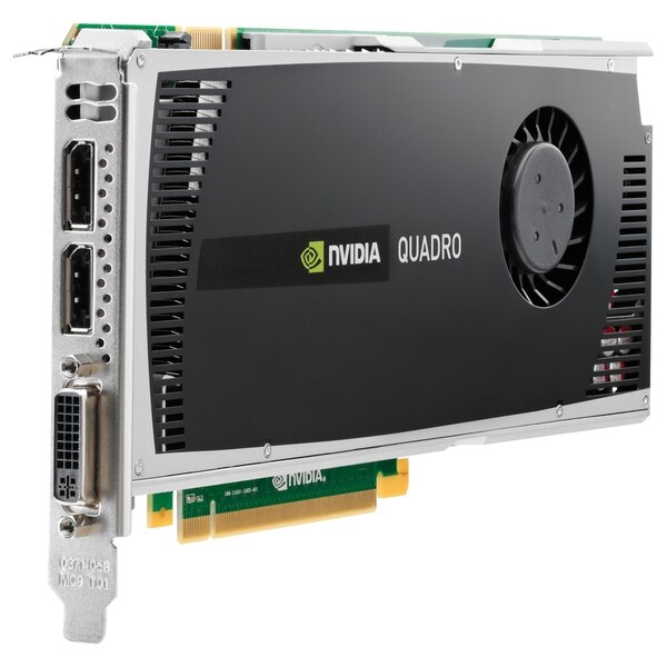 HP WS095AT Quadro 4000 Graphic Card - 2 GB GDDR5 SDRAM - PCI Express
