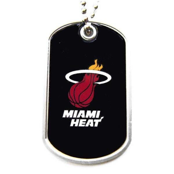 NBA Miami Heat Dog Tag Necklace