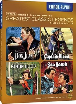 TCM Greatest Classic Films: Legends - Errol Flynn (DVD)