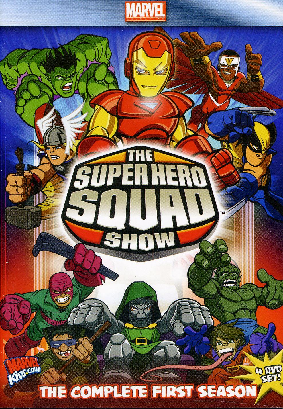 Super Hero Squad - The Complete Season 1 (DVD)