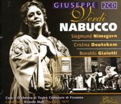 Coro E Orchestra Di Teatro Comunate Di Fiorenze - Verdi: Nabucco