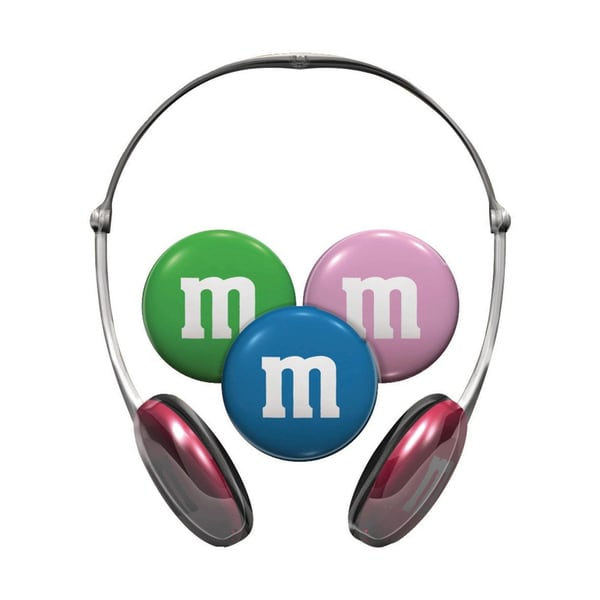 Maxell Kids Safe M&M Headphones