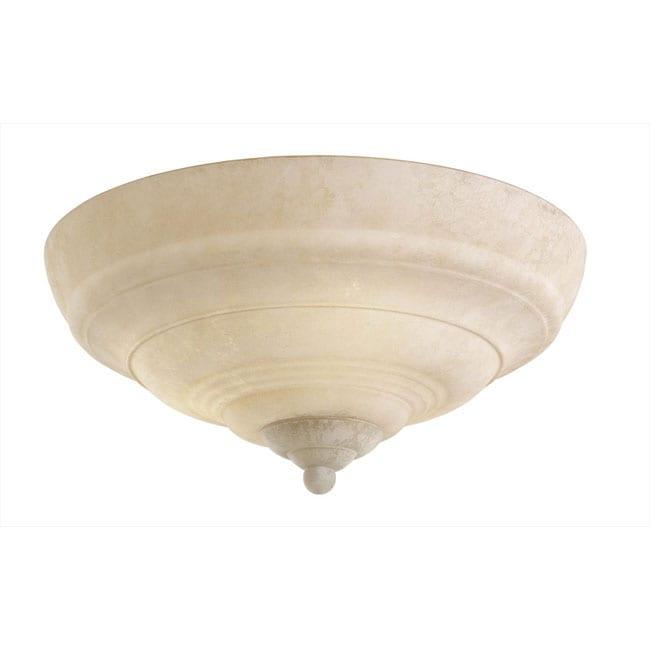 Monte Carlo Indoor 3-light Bronze Semi-flush Lighting Fixture