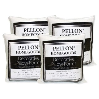 Pellon 18-inch x 18-inch Decorative Pillow Inserts (Set of 4)
