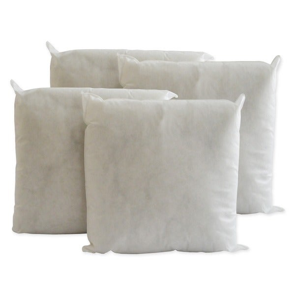 pellon decorative pillow inserts 20inch x 20inch set of 4 free shipping today