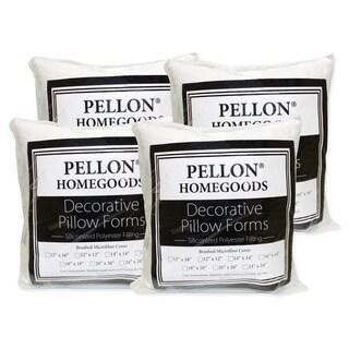 Pellon Decorative Pillow Inserts 20-inch x 20-inch (Set of 4)