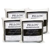 Pellon 4-piece Decorative 20-inch x 20-inch Pillow Inserts Set