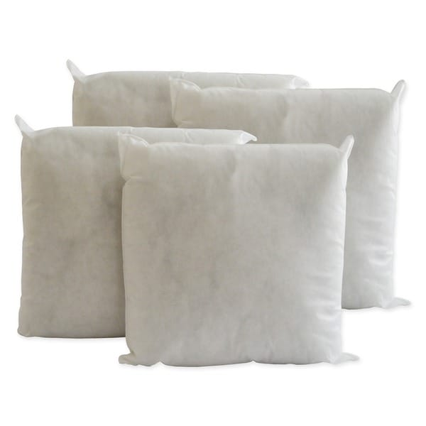 pellon decorative pillow inserts 24inch x 24inch set of 4 free shipping today