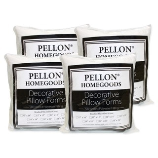 Pellon Decorative Pillow Inserts 24-inch x 24-inch (Set of 4)