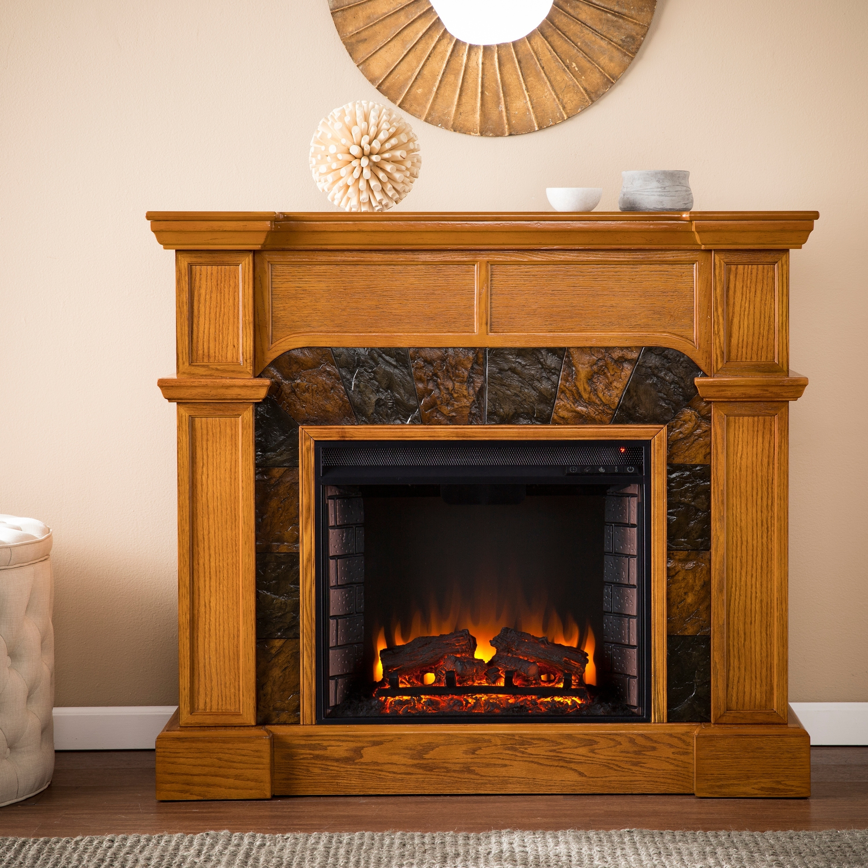 Best Electric Corner Fireplace For Small Space Zion Star