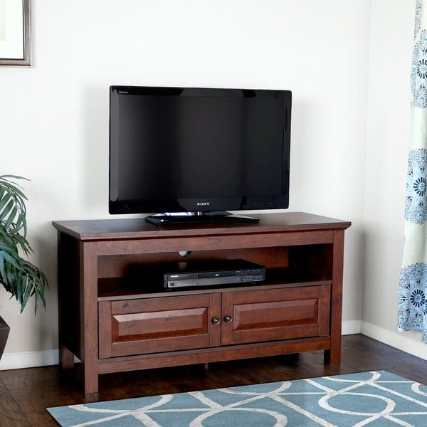 Inch brown wood tv stand free shipping today