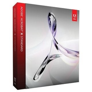 Adobe Acrobat X Standard - Version Upgrade Package - 1 User - Standar