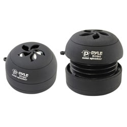 Pyle Bass Expanding Rechargeable Dual Mini Speakers for iPod/ MP3