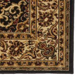 Admire Home Living Traditional Caroline Sarouk Black (Set of 3)