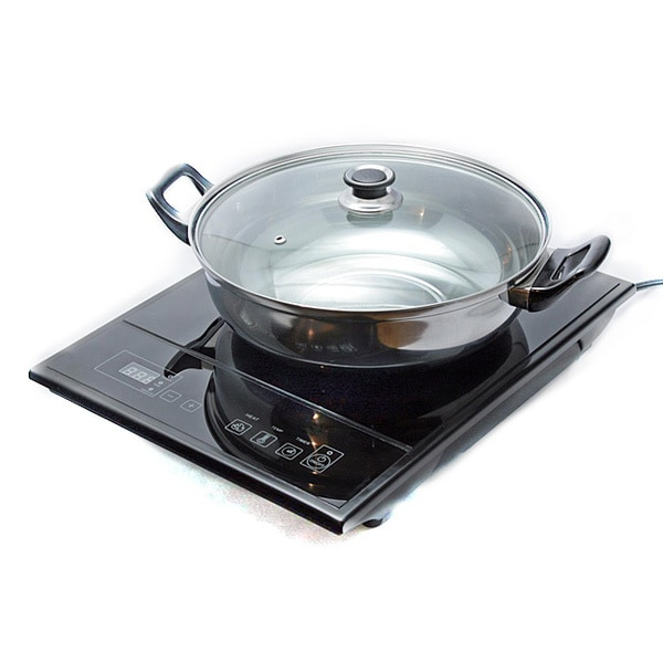 total chef tcis11bng induction cooktop single burner free shipping today. Black Bedroom Furniture Sets. Home Design Ideas