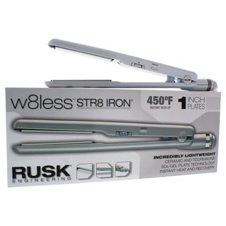 Rusk W8less Professional Ceramic and Tourmaline Str8 1-inch Flat Iron