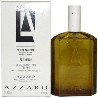 Azzaro Men's 3.3-ounce Eau de Toilette (Tester) Spray