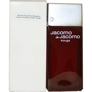 Jacomo de Jacomo Rouge Men's 3.4-ounce Eau de Toilette (Tester) Spray