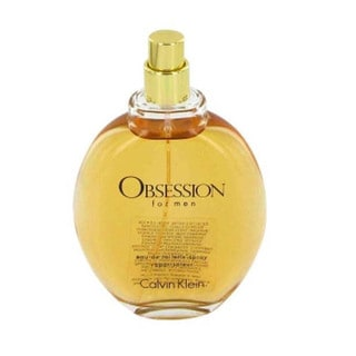 Calvin Klein Obsession Men's 4-ounce Eau de Toilette Spray (Tester)