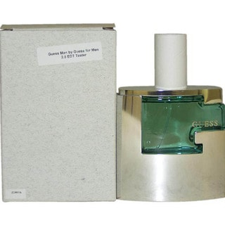 Guess Man Men's 2.5-ounce Eau de Toilette (Tester) Spray