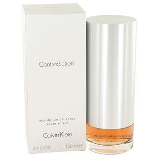 Calvin Klein Contradiction Women's 3.4-ounce Eau de Parfum Spray https://ak1.ostkcdn.com/images/products/5393476/P13191176.jpg?_ostk_perf_=percv&impolicy=medium