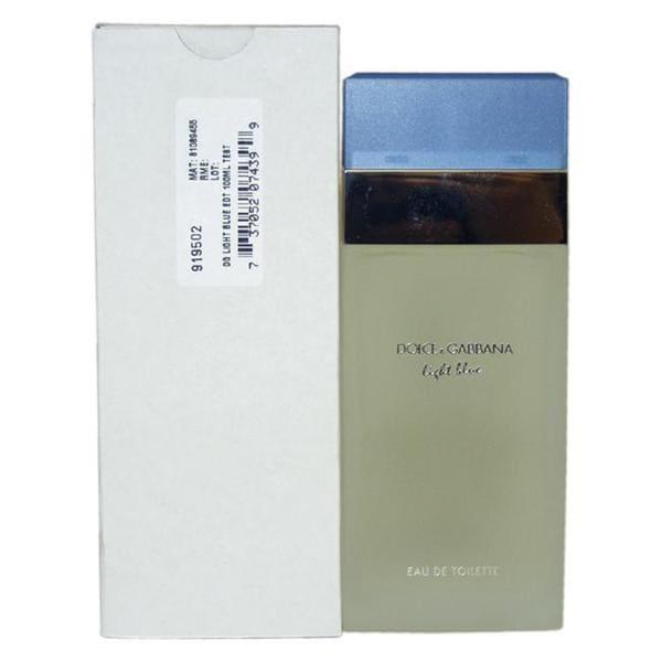 Dolce and Gabbana Light Blue Women's 3.4-ounce Eau de Toilette (Tester) Spray