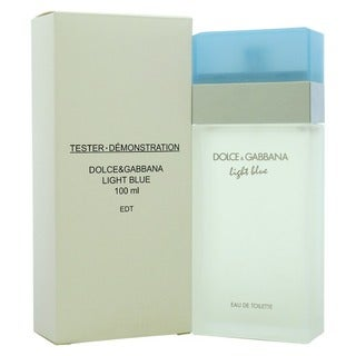 Dolce and Gabbana Light Blue Women's 3.4-ounce Eau de Toilette (Tester) Spray