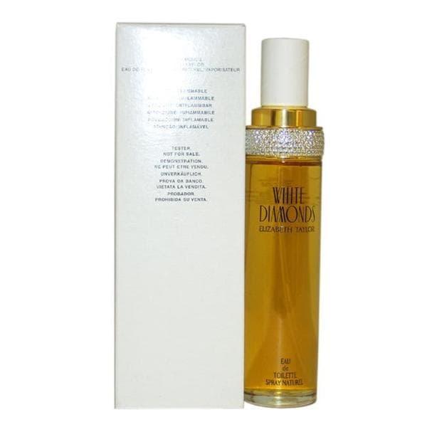Perfume Halloween Tester: Shop Elizabeth Taylor White Diamonds Women's 3.4-ounce Eau De Toilette Spray (Tester)