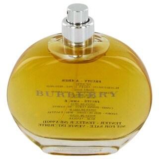 Link to Burberry Women's 3.3-ounce Eau de Parfum Spray (Tester) Similar Items in Perfumes & Fragrances