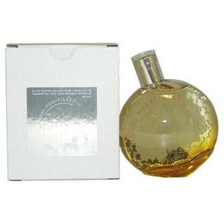 Hermes Eau Des Merveilles Women's 3.3-ounce Eau de Toilette Spray Limited Edition (Tester)