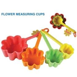 Flower Measuring Cups (Pack of 4) - Thumbnail 1