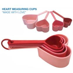 Heart Measuring Cups