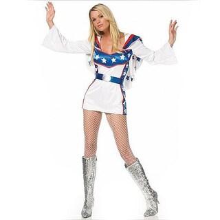 Dress Up America Women's 2-piece Dare Devil Costume