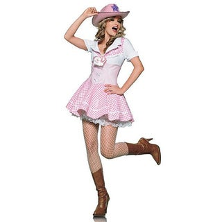 Dress Up America Women's 2-piece Cowgirl Costume