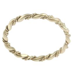 Goldfill Twisted Ring