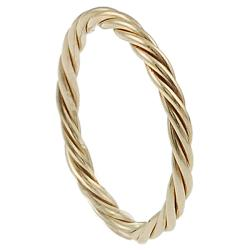 Goldfill/Alloy Twisted Ring - Thumbnail 1