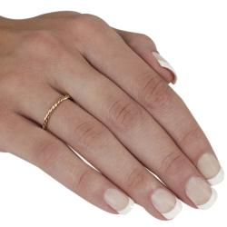 Goldfill/Alloy Twisted Ring - Thumbnail 2