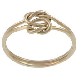Goldfill Knotted Two-piece Ring