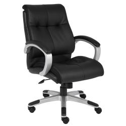 Boss Double Plush Mid-back Chair - Thumbnail 1