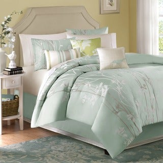 Madison Park Athena Green 7-piece Comforter Set