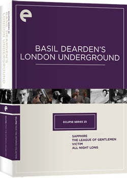 Eclipse Series 25: Basil Dearden's London Underground (DVD)