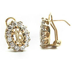14k Goldplated Quinceanera Cubic Zirconia Jewelry Set (Mexico) - Thumbnail 1