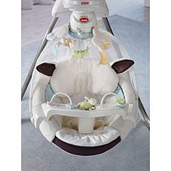 Fisher-Price My Little Lamb Cradle 'n Swing - Free Shipping Today - Overstock.com - 13192397