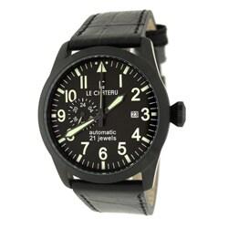 Le Chateau Men's Gunmetal Dynamo Automatic Men's Watch
