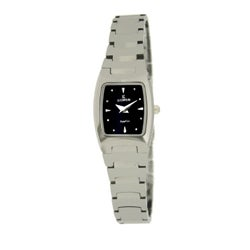 Le Chateau Women's Classica All Tungsten Square Watch