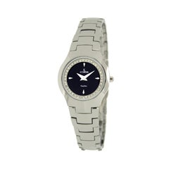 Le Chateau Women's Classica All Tungsten Silver Link Watch
